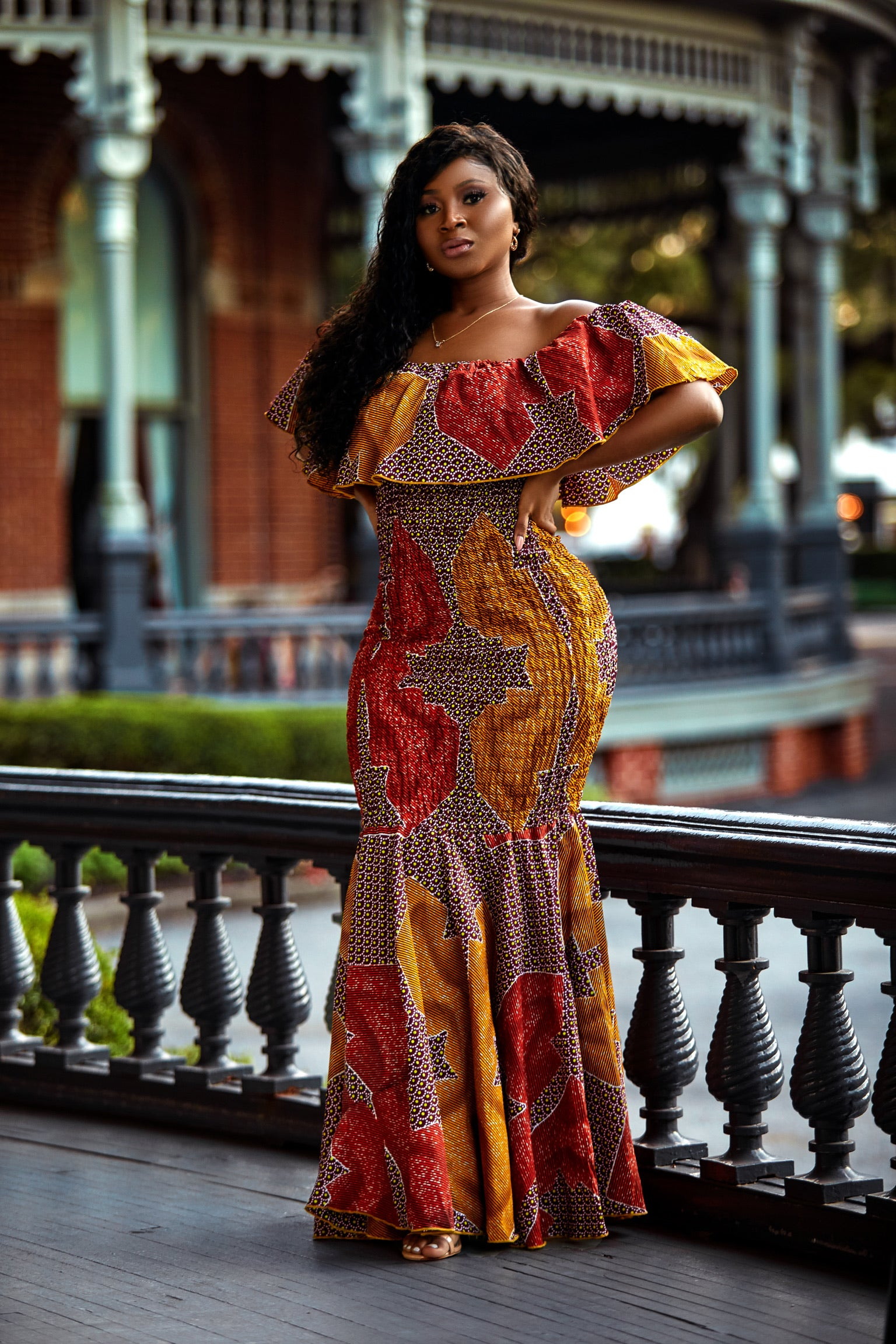 Bodycon Nadiyah gown
