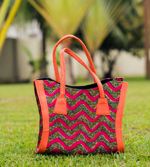 Orange Eliyah Bag