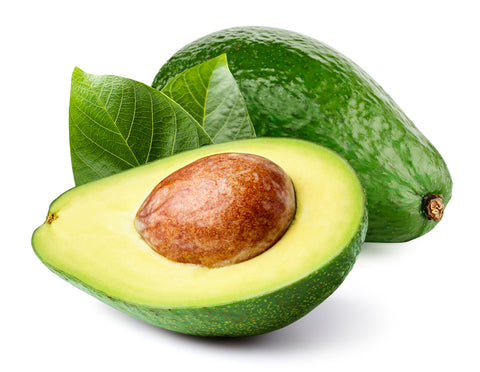 Organic Avocado Oil omega-3 fatty acids and vitamins A, D, and E. Reduces inflammation from Psoriasis, Eczema, and Acne