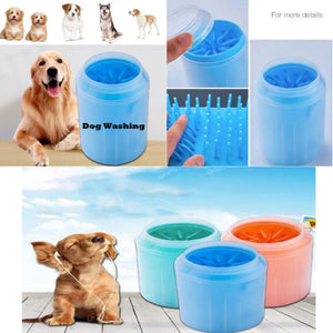 Portable Pet Paw Plunger Mud Cleaner