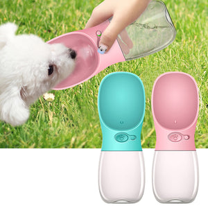 350 ml Pet Dog Cat Drinking Water Feeder Bottle Dispenser for Walking Camping Hiking Travelling Activities - Pet Shop Boys and Girls