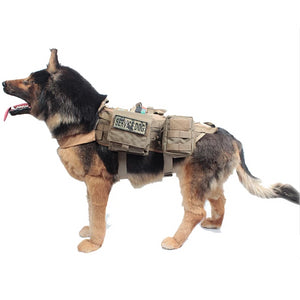 Dog Training Vest Harness Military Load Bearing Hunting SWAT - Pet Shop Boys and Girls