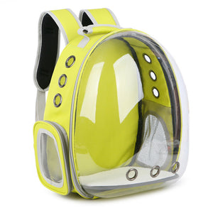 Carrier Transparent Capsule Breathable Outdoor Travel Cat Bag - Pet Shop Boys and Girls