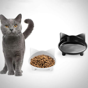 CAT FOOD & WATER BOWLS FOR WHISKER RELIEF - Pet Shop Boys and Girls