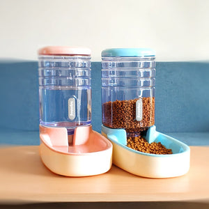 Cat Feeding Bowls Automatic Feeders - Pet Shop Boys and Girls