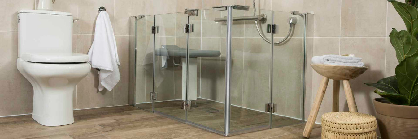 Half Height Shower Doors & Screens