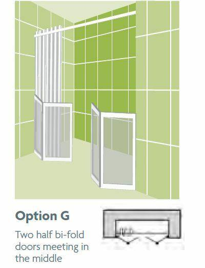 *ALL SIZES* Impey Option G 750mm High Shower Screens
