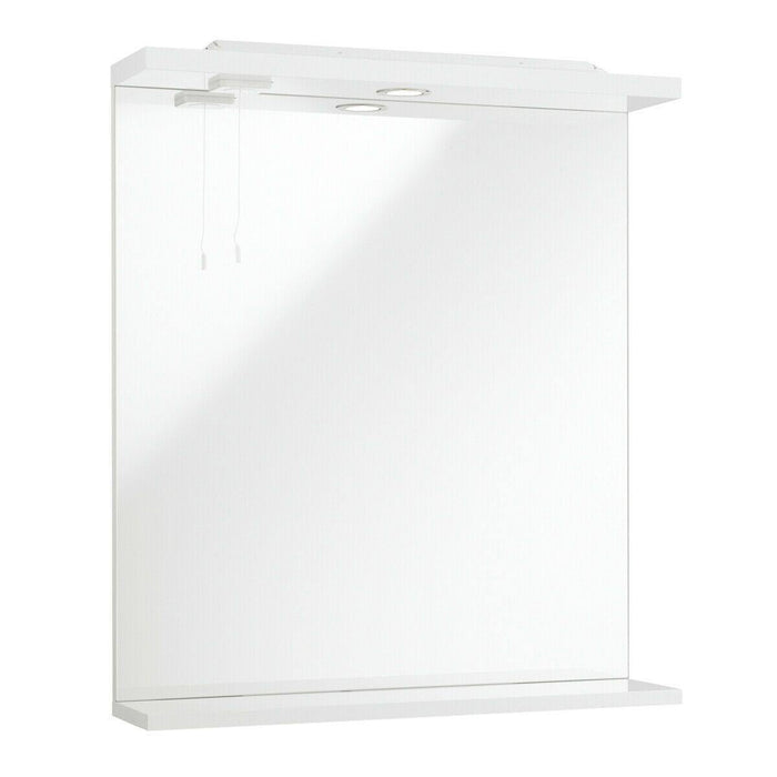 Bathroom mirror with lights 750 x 450mm - Adaptation Supplies Ltd
