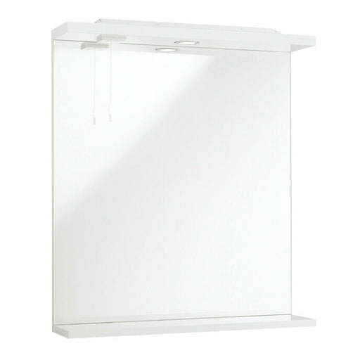 Bathroom mirror with lights 750 x 650mm
