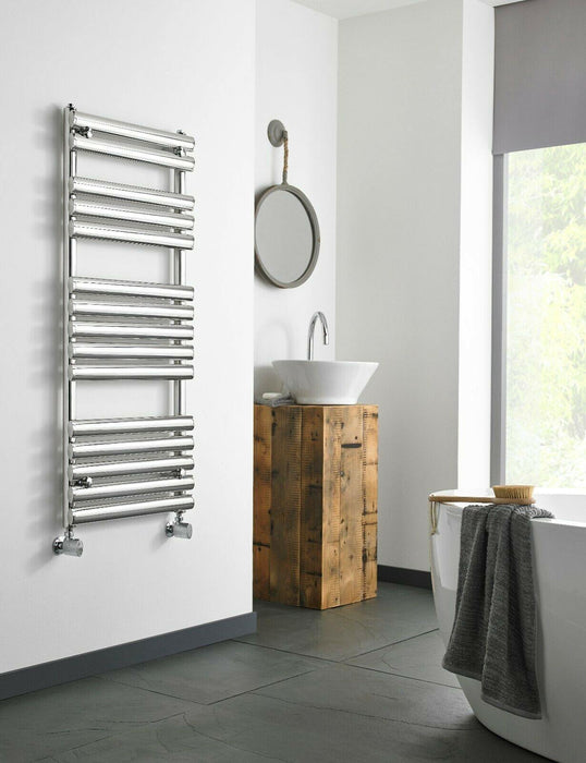 Bathroom Ohio heated towel rail 1200 x 500mm