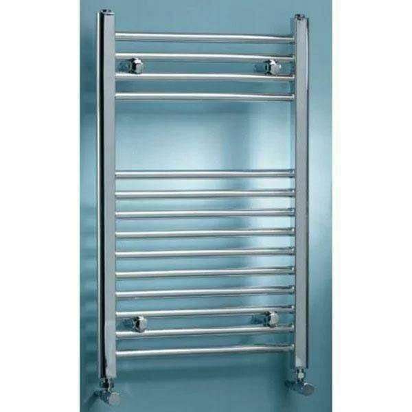 Bathroom K-Rail 25mm straight Chrome towel rail
