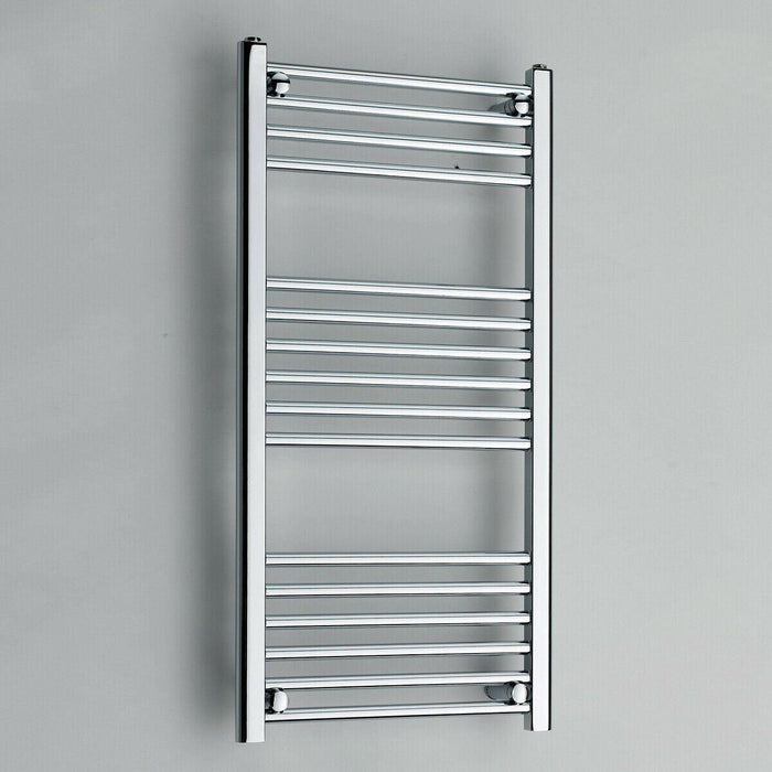 Bathroom 22mm K-Rail chrome straight towel rail