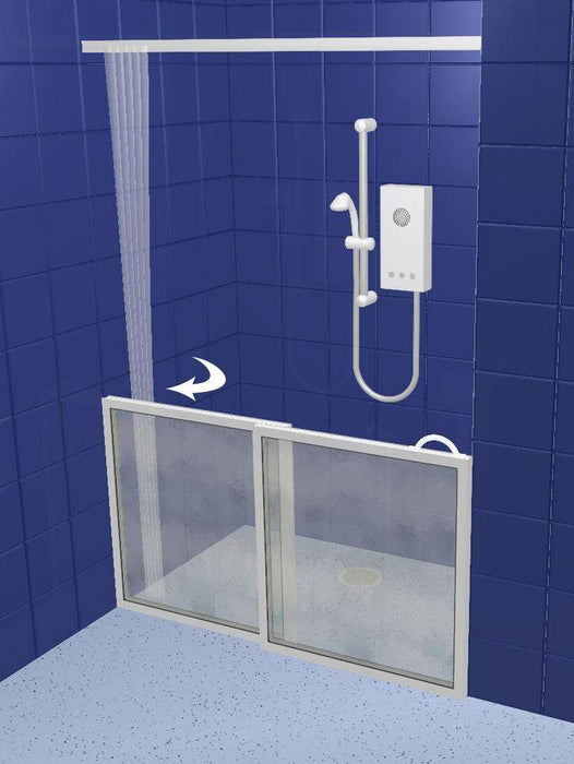 **ALL OPTIONS**Contour Half Height Made To Measure Shower Screens