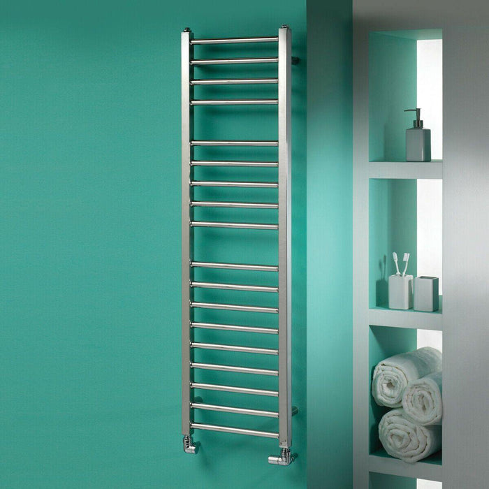 Bathroom Metro heated towel rail 1200 x 500mm
