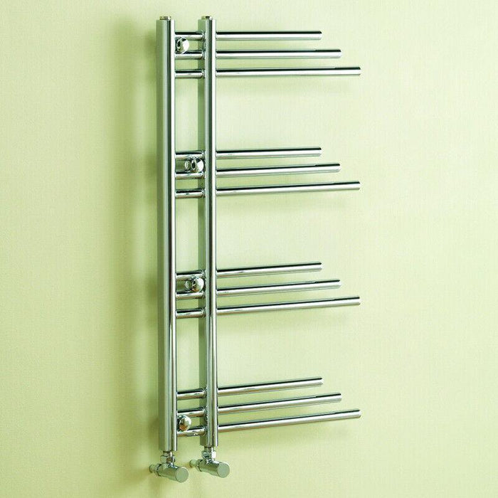 Bathroom New York heated towel rail 906 x 500mm - Adaptation Supplies Ltd