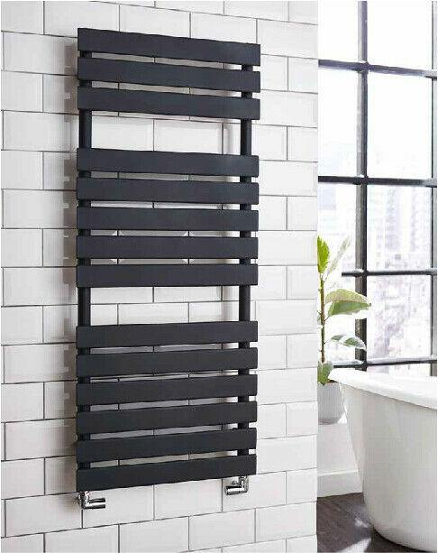 Bathroom Atlantic designer towel rail 1185 x 500mm