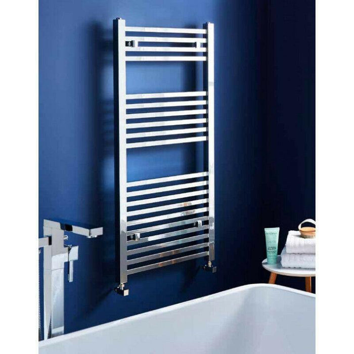 Bathroom K Squared heated towel rail
