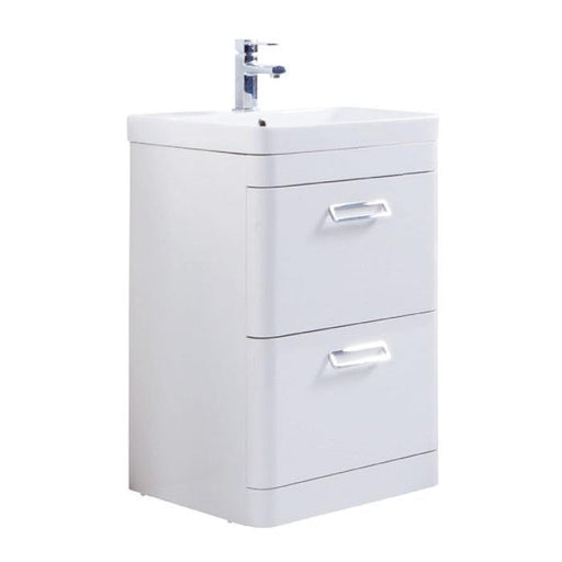Metro Floor Standing Drawer Unit with Ceramic Basin