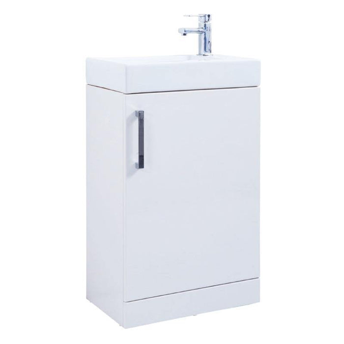 Liberty Floor Standing Unit with Ceramic Basin - Adaptation Supplies Ltd