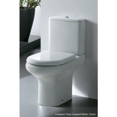 Compact Close Couple Hi Pan inc Cistern and Seat - Adaptation Supplies Ltd