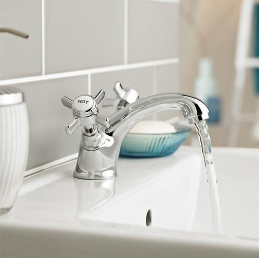 Klassique Mono Basin Mixer with Click Waste