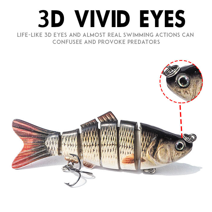 Electronic Robotic Lure- Suitable for all kinds of fishing waters