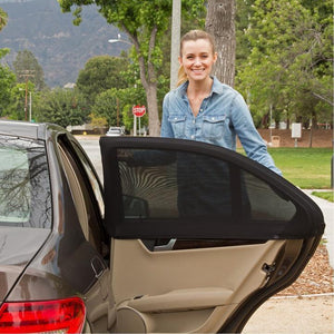 Universal Car Sunshade (Set of 2 Pieces)