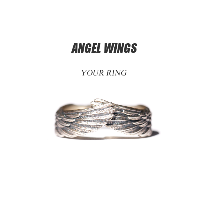 Angel Wing Ring - Love Regardless of Distance