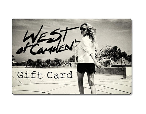 West of Camden Gift Card