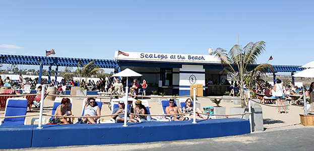 West of Camden pop-up location at SeaLegs at the Beach