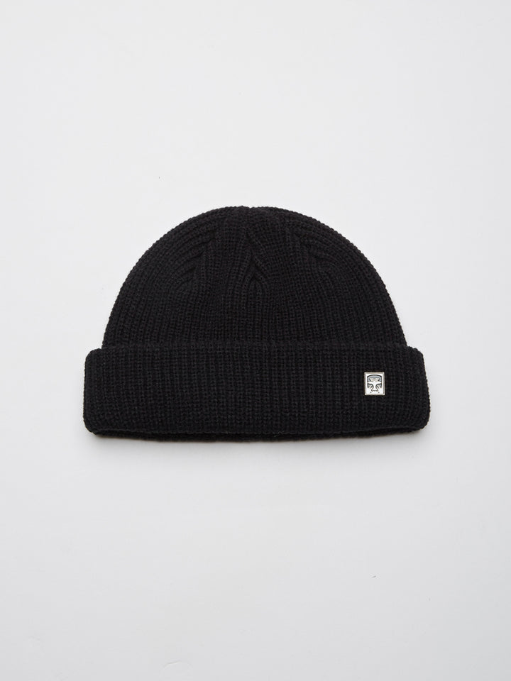 Micro Beanie | Black - West of Camden
