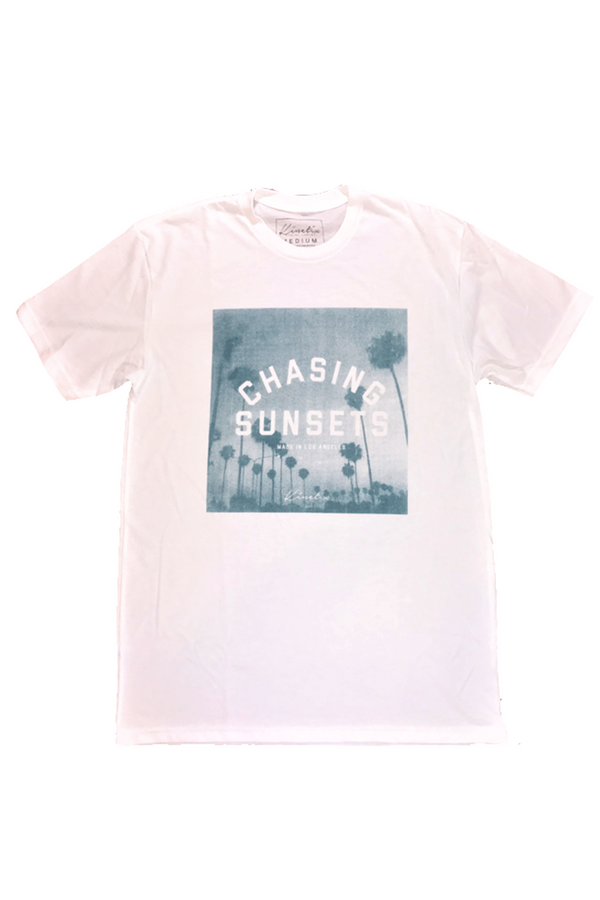 Chasing Sunsets Tee | White
