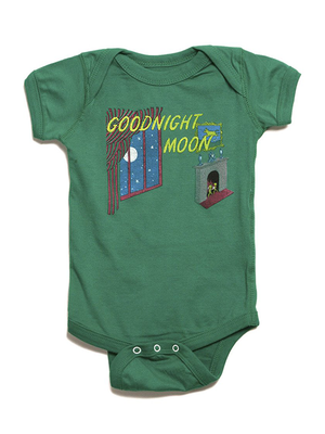 Goodnight Moon Onesie | Green - West of Camden