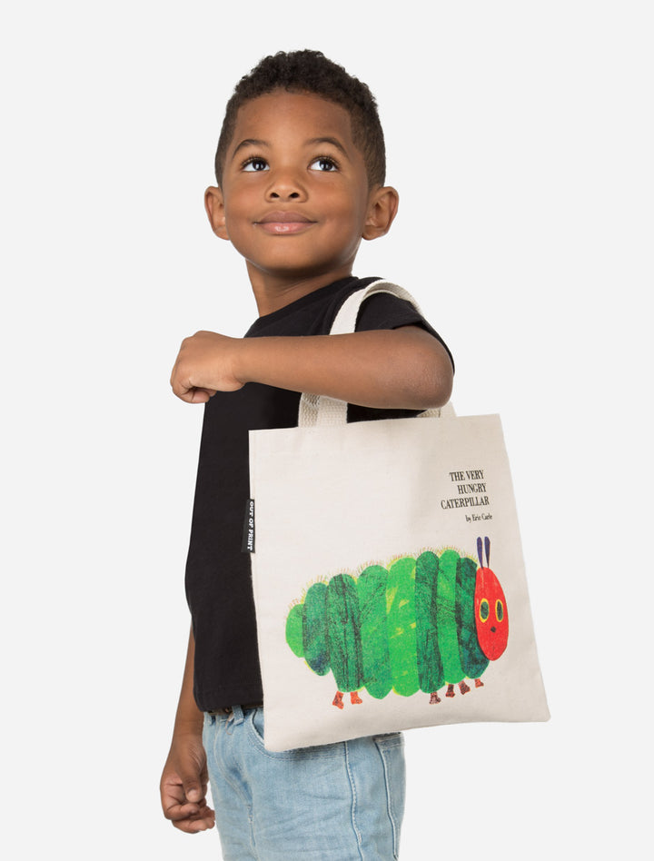 Kids Tote Bag Hungry Caterpillar - West of Camden