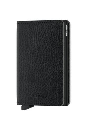 Slimwallet Vegetable Tanned | Black