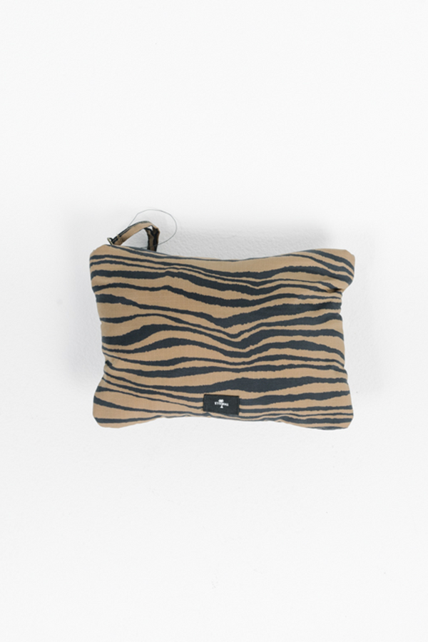 Disrupted Paradise Clutch | Palm Bronze
