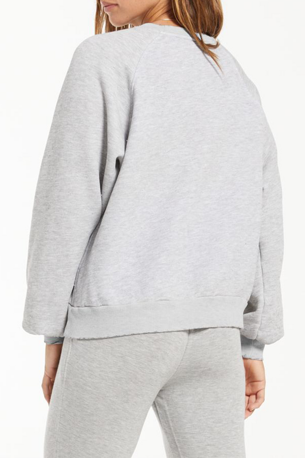 Billie Classic Sweatshirt | Heather Grey
