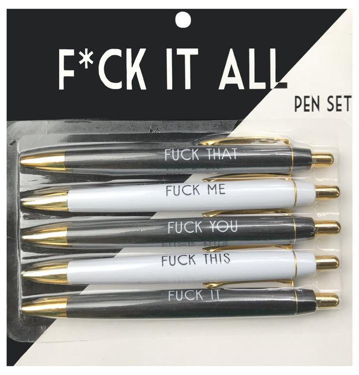 Fuck It All Pen Pack