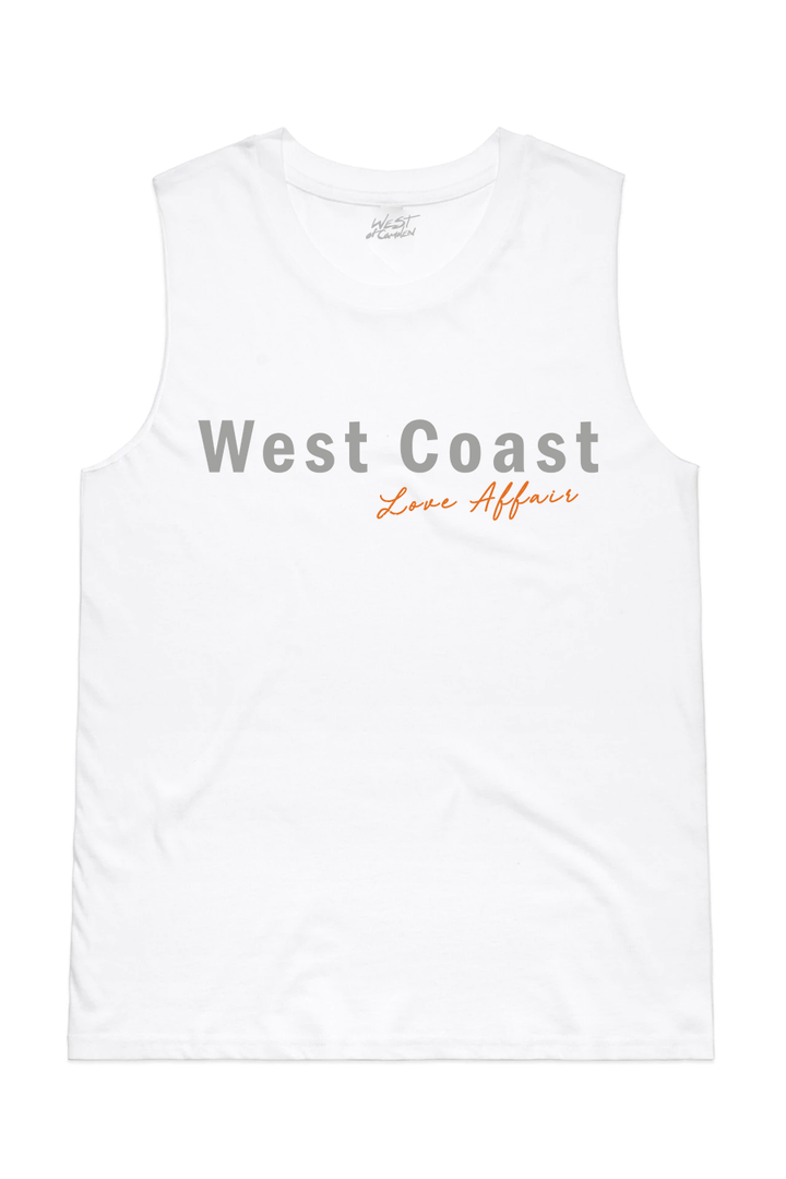 West Coast Affair Tank | White - West of Camden