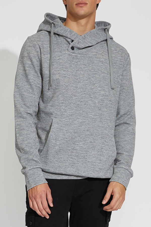 Bergen Shawl Neck Hoodie | H. Gray - West of Camden