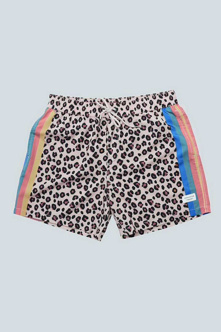 Cheetah Disco Short | Black - West of Camden