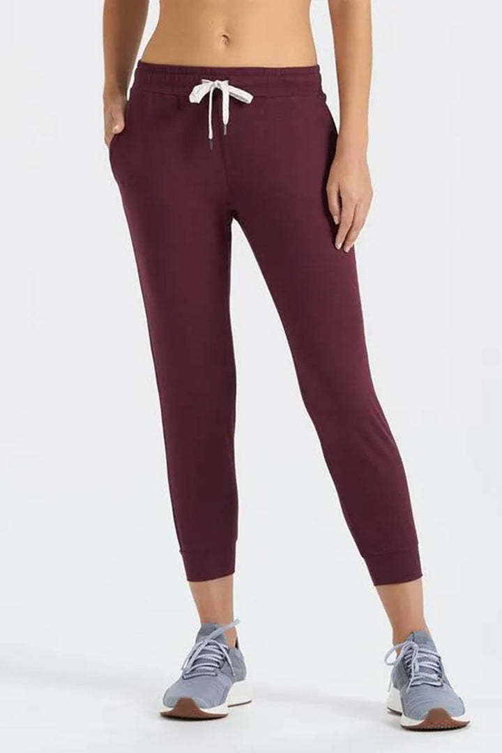 Performance Jogger | Cerise Heather