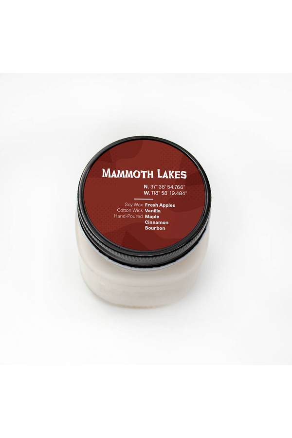 Mammoth Lakes Soy Candle