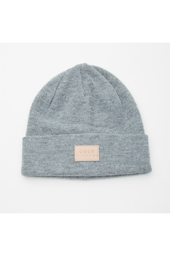 Briean Beanie | Heather Grey