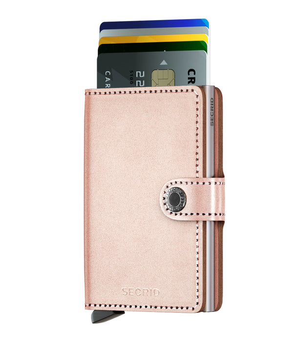 Miniwallet Metallic | Rose
