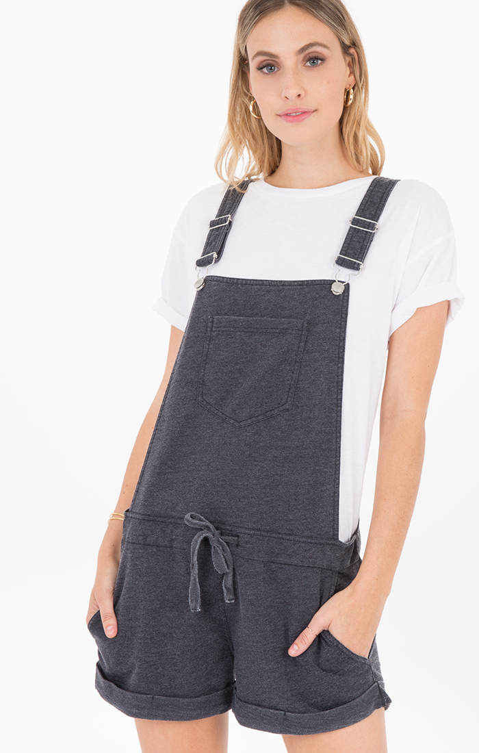 The Short Overalls | Black - West of Camden