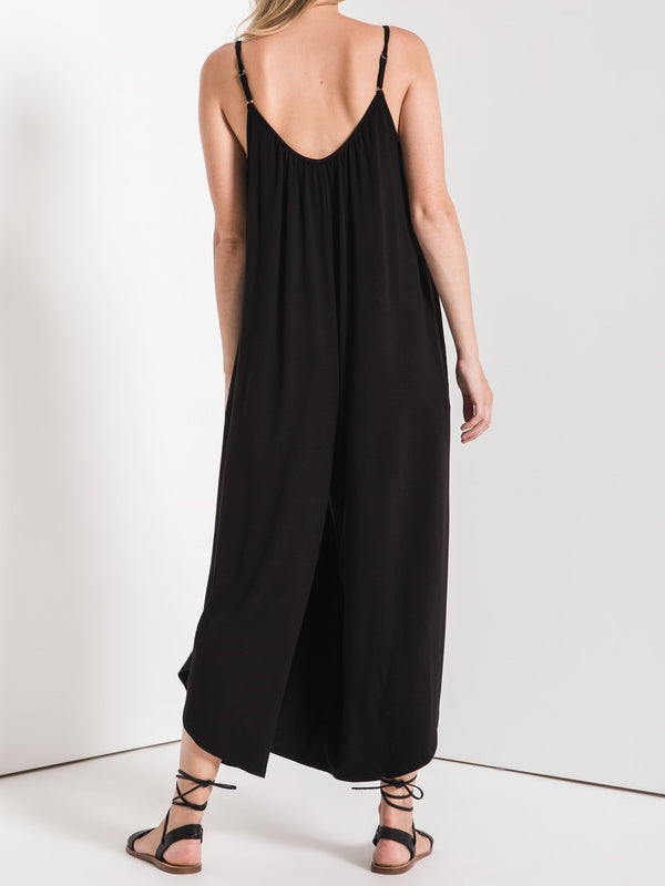 Flared Jumpsuit | Black