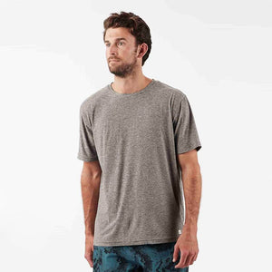 Strato Tech Tee | Heather Grey - West of Camden