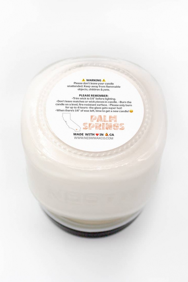 Palm Springs Soy Candle