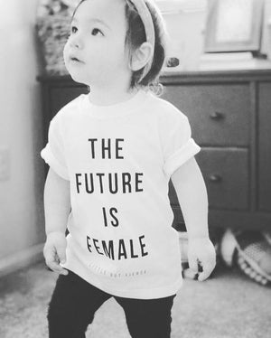 Future Is Female Tee | White - West of Camden
